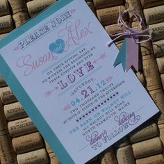 Vintage Carnival Wedding Invitation country by JenSimpsonDesign, $4.00