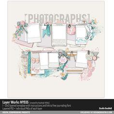 Layer Works No. 935- Studio Double-D Templates- LT325291- DesignerDigitals