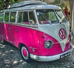 Ideas for vintage truck camper fun Volkswagen Bus, Volkswagen Transporter, Vw T1, Wolkswagen Van, Van Vw, Bus Camper, Campers, Combi Split, Vw Beach