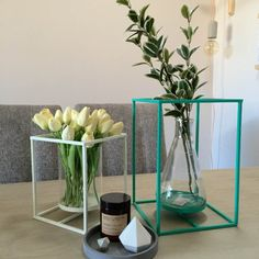 Dining Room Ideas - Dining Table Styling with Concrete