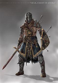 Grimdark Souls - Oscar of Astora by SaneKyle.deviantart.com on @DeviantArt