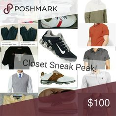Feel Free to make an Offer! This closet is full of mens plus clothing and shoes. Lots of high quality brands and golfing attire listed. Sizes are from XL-XXL. Shoes are from 9-13.   Always willing to negotiate and accept offers.   Perfect presents for birthdays or anniversary and for Fathers day, for boyfriends, sons, or husbands.   Add items you're interested in into a bundle and I'll offer you an exclusive just for you price!  Like this post to bookmark my page! Other