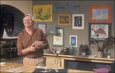 """Take Hart""...... Tony Hart, the Gallery music, and Morph of course!"