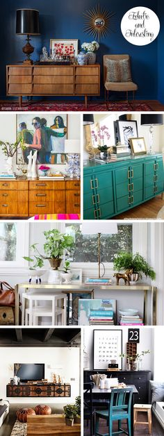 Inspiration:  How to Style a Console Table