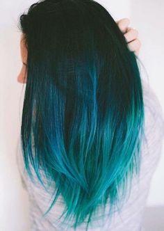 Hair Color Dark Blue, Blonde Color, Cool Hair Color, Dark Purple, Dark Hair, Brown Teal, Hair Colors, Dark Brown, Blonde Shades