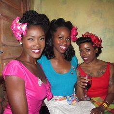 Angelique Noire and friends