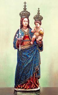 Puntadas divinas: Nuestra Señora del Buen Aire 24 de Abril