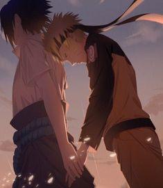 Nasuno (Naruto x Saskue pic) ⚠️⚠️⚠️⚠️⚠️⚠️ - Romance - Wattpad Naruto And Sasuke Kiss, Naruto Anime, Naruto Comic, Naruto Cute, Sakura And Sasuke, Kakashi Sensei, Naruto Shippuden Sasuke, Boruto, Itachi