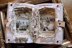 Altered art - Let the  old book tell your story