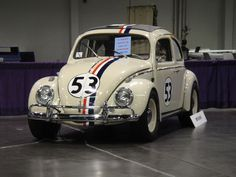 Herbie the Love Bug is an anthropomorphic 1963 Volkswagen Beetle, a character that is featured in several Disney motion pictures starting with the 1968 feature film The Love Bug. He has a mind of his own and is capable of driving himself, and is also a serious contender in auto racing competitions.
