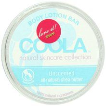 Coola Body Lotion Bar, Unscented, 2.75 Ounce. Available at OurPamperedHome.com