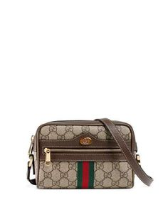48dab8b0b5ac Get free shipping on Gucci Ophidia Small GG Supreme Crossbody Bag at Neiman  Marcus. Shop