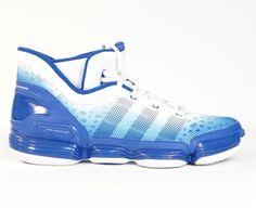 79710192ed7 Adidas TS Heat Check Basketball Shoes Royal Blue   White Mens NWT