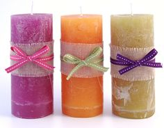 A foolproof tutorial on creating quirky coloured layered container candles in 8 steps
