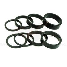 Bike Headset Spacers - Wheels Manufacturing 118Inch Spacer Black25mm Bag of 5 -- To view further for this item, visit the image link.