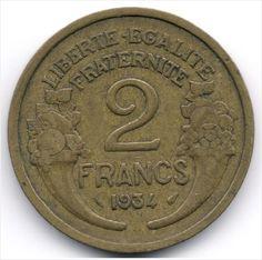 France 2 Francs 1934 Veiling in de Frankrijk,Europa (niet of voor €),Munten,Munten & Banknota's Categorie op eBid België