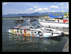 Own a wakeboard boat! Fast Boats, Cool Boats, Speed Boats, Wakeboarding, Wake Board, Wakeboard Boats, Row Row Your Boat, Jet Skies, Boat Wraps