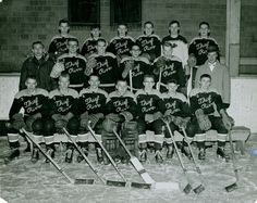 1945-1956 Thief River Falls Prowlers Hockey Jersey