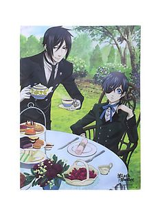 Black Butler Dining Fabric Poster,