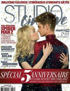 MyMy .. The No Feminist Blog: Emma Stone et Andrew Garfield en couverture du Stu...