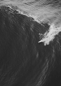This takes courage, understanding, and practice. You don't just hop onto a wave this size.