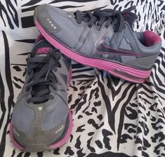 NIKE AIR LUNARMAX + Shoes Womens Size 9.5 ~ Free Shipping! 415323-004