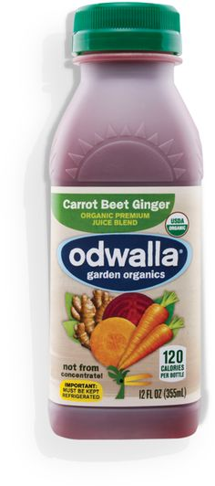Odwalla Carrot Beet Ginger | Garden Organics    Soo good for you and good tasting