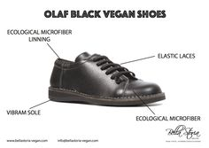 Olaf ecological vegan shoes man and woman sneaker - vibram sole