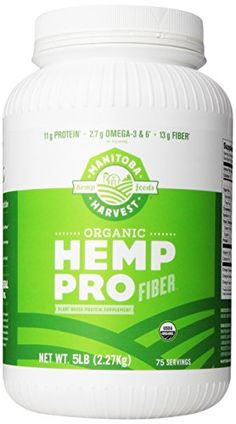 Manitoba Harvest Organic Hemp Pro Fiber Protein Supplement, 5 Pound Manitoba Harvest http://www.amazon.com/dp/B00856TSRC/ref=cm_sw_r_pi_dp_Pkp3wb0ESJPDA