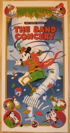 "2012 ""The Band Concert"" - Silkscreen Movie Poster by Cristescu"