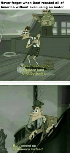 """Fifteen 'Phineas And Ferb' Memes In Honor Of Such A Clever Kids' Show - Funny memes that """"GET IT"""" and want you to too. Get the latest funniest memes and keep up what is going on in the meme-o-sphere. Really Funny Memes, Stupid Funny Memes, Funny Relatable Memes, Haha Funny, Hilarious, Funniest Memes, Funny Stuff, Random Stuff, Relatable Posts"""