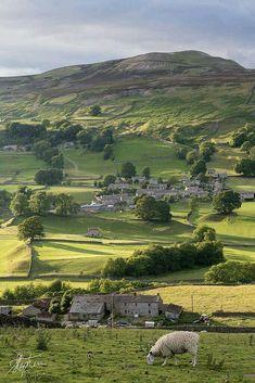 "England Travel Inspiration - ""Yorkshire Dales, England by Pixelda "" Yorkshire England, Yorkshire Dales, Cornwall England, North Yorkshire, England Uk, London England, Travel England, Landscape Photography, Nature Photography"