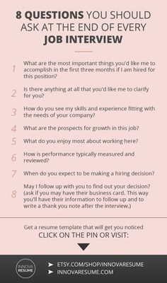Questions you should ask at the end of every job interview. Need a resume that will land you a job interview? Informations About 8 Questions You Should Ask At Every Job Interview Pin You can easily us Job Interview Preparation, Interview Skills, Job Interview Questions, Job Interview Tips, Job Interviews, Preparing For An Interview, Interview Tips Weaknesses, Starbucks Interview Questions, Good Interview Answers