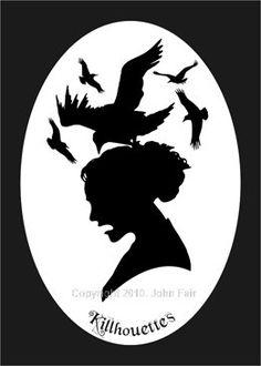 """O, The Pretty Black Birds"" (c)Copyright 2010, John Fair."
