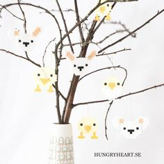 Easter Decorations w FREE pattern