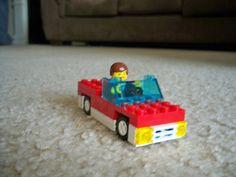 Simple instructions on how to make a #Lego car. Upps! I almost stepped on that. lol