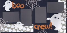 Boo Crew Scrapbook Page Kit