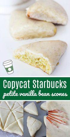 copycat starbucks petite vanilla bean scones recipe