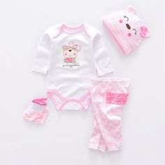 8643cd98a Baby Clothing Sets cotton boy clothes suit Newborn baby girl suit long -  FirstLook Conjuntos De
