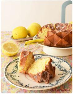 Gâteau moelleux au fromage blanc coco et citron parfait pour l'heure du thé ! #cake #coco #lemon #teatime