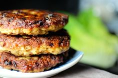 Amazing Chicken Burger Recipe - use lettuce for lettuce wrapped burgers to make low carb