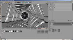 In this tutorial I show you how I did the texturing and lighting for the scene, as well as the vortex tunnel in the background. Cinema4D Mograph Photoshop