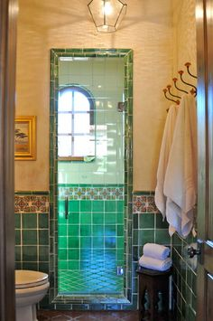 Spanish style home - Traditional - Bathroom - San Francisco - by Melanie Giolitti Interior Design style bathrooms mexico Spanish Bathroom, Spanish Style Bathrooms, Spanish Tile, Spanish Style Decor, Spanish Style Homes, Spanish Revival, Spanish Colonial, Art Deco Bathroom, Bathroom Ideas