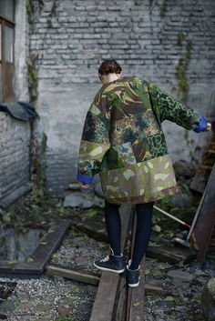 "Image of ""CAMO"" PARKA                                                                                                                                                                                 More"