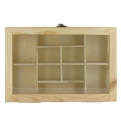 Wood Shadow Box with Glass Top Hobby Lobby, $6.99