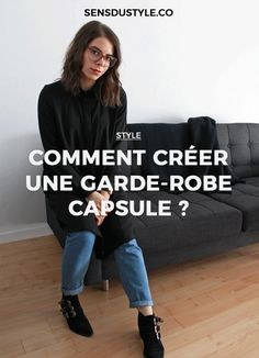 Le terme garde-robe capsule, tirée de l'anglais « capsule wardrobe », est devenu populaire en 2015 — soit au même moment où la tendance minimaliste a pris son envole. Voici comment adopter ce style de vie à l'heure actuelle. Positive Attitude, Slow Fashion, Positivity, France, Couture, Envole, Womens Fashion, Decluttering, Moment