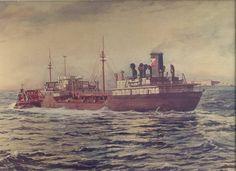 """Crown-Oil-Tanker_""""Crown Oil Tanker"""" by depply"""