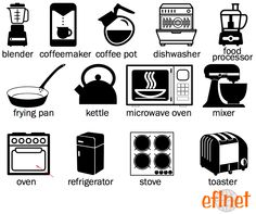Kitchen - Worksheet 1 | EFLnet