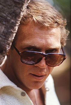 Steve McQueen photographed by Jean-Marie Perier in Spain, 1969.