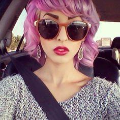 #pinkhair #purplehair #inkworks